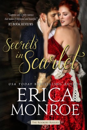 Book Cover: Secrets in Scarlet